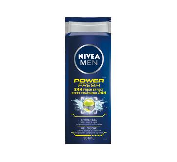Gel douche avec effet fraîcheur 24 h, 500 ml, Power Fresh