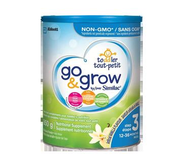 Go & Grow boisson en poudre pour tout-petits, étape 3, 850 g, vanille