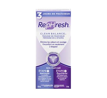 Image 2 du produit RepHresh - Clean Balance trousse de fraicheur féminine en 2 étapes, 1 unité