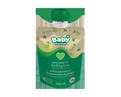 Image du produit Baby Gourmet - Poires juteuses et légumes verts du jardin, 128 ml