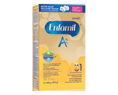 Image du produit Enfamil A+ - Enfamil A+ recharge de préparation lactée, 2 x 496 g