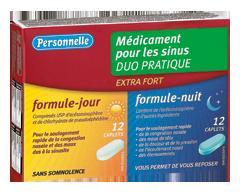 Image du produit Personnelle - Médicament pour les sinus extra fort, jour et nuit, 12+12 unités