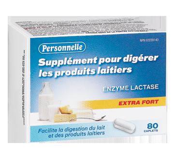 Image du produit Personnelle - Digestion des produits laitiers extra fort, 80 unités