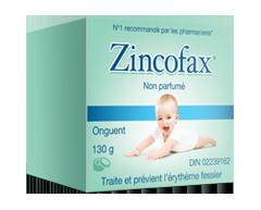 Image du produit Zincofax - Zincofax non parfumé, 130 g