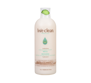 Argan Oil recharge savon liquide pour les mains hydratant, 1 L