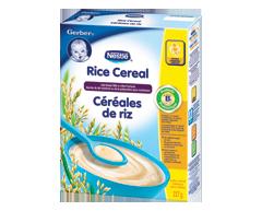 Image du produit Nestlé - Gerber céréales de riz (ajouterz du lait), 227 g