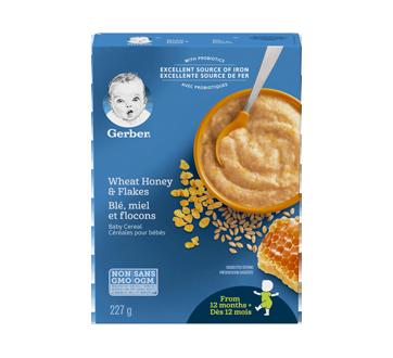 Gerber blé, miel et flocons, 227 g