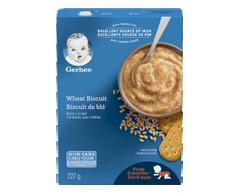 Image du produit Nestlé - Gerber céréales biscuits de blé, 227 g