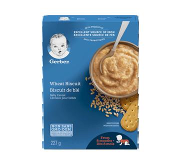 Gerber céréales biscuits de blé, 227 g