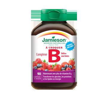 Image 1 du produit Jamieson - Complexe B à croquer, 90 unités