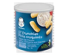 Image du produit Nestlé - Gerber P'tits Croquants trempette de légumes, 42 g