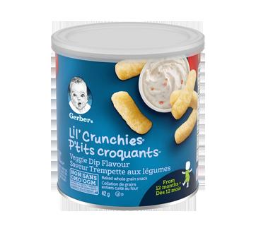 Gerber P'tits Croquants trempette de légumes, 42 g