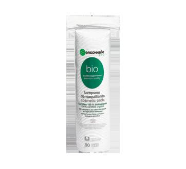 Tampons démaquillants bio - Ovale, 80 unités