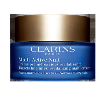 Multi-Active nuit, 50 ml, peaux normales à sèches