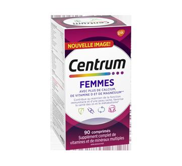 Image du produit Centrum - Supplément femme, 90 unités