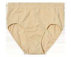 Image du produit Styliss - Culotte à taille haute pour femme, 1 unité, grand, beige
