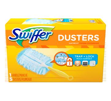 Dusters - Trousse de départ avec plumeaux jetables, non parfumé