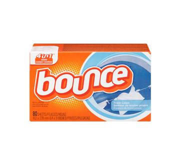 Image 3 du produit Bounce - Feuilles assouplissantes, 80 unités, lessive propre