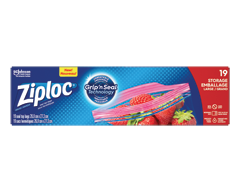 Image du produit Ziploc - Sacs d'emballage, 20 unités, grand
