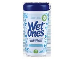Image du produit Wet Ones - Lingettes à la vitamine E et aloès , 40 serviettes