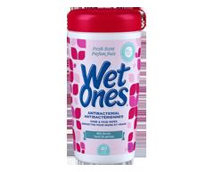 Image du produit Wet Ones - Lingettes antibactériennes , 40 serviettes