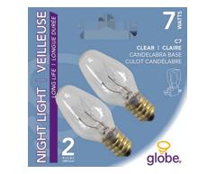 Image du produit Globe Electric - Ampoule pour veilleuse, claire