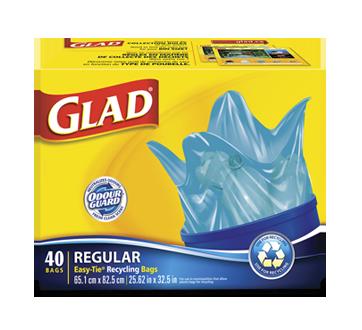 Image 1 du produit Glad - Sacs à ordures ordinaires à n oelig ud facile pour 1a1b6985937