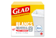 Vignette 1 du produit Glad - Très petits sacs à ordures blancs, senteur fraîche et propre de Febreze, 52 unités