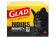 Vignette 1 du produit Glad - Sacs à ordures ordinaires à nœud facile, 40 unités