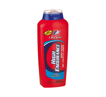 High Endurance nettoyant pour le corps, 532 ml, fraîcheur