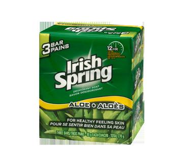 Image 3 du produit Irish Spring - Savon désodorisant, 3 x 90 g, aloès