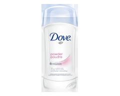Image du produit Dove - Antisudorifique en bâton poudre, 74 g