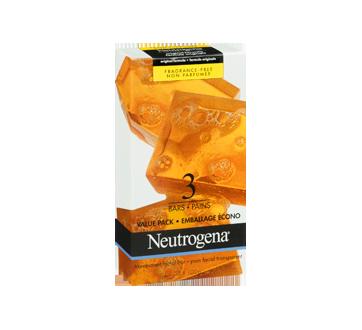 Image 2 du produit Neutrogena - Pain nettoyant facial, emballage de 3 pains, 100 g