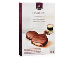 Image du produit PJC Délices - L'Espresso biscuits européens, 180 g