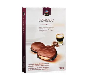 L'Espresso biscuits européens, 180 g