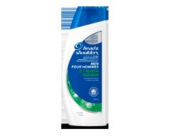 Image du produit Head & Shoulders - Shampoing et revitalisant antipelliculaire 2en1 pour hommes, 400 ml, fraîcheur