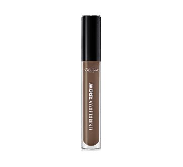 Image 2 du produit L'Oréal Paris - Unbelievabrow gel hydrofuge longue tenue pour sourcils, 4,5 ml, brunette claire 565
