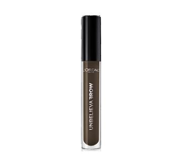 Image 2 du produit L'Oréal Paris - Unbelievabrow gel hydrofuge longue tenue pour sourcils, 4,5 ml, brunette foncée  575