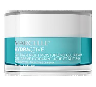 Hydractive gel-crème hydratant jour et nuit 24H, 50 ml