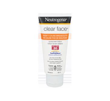 Clear Face lotion écran solaire FPS 30, 88 ml