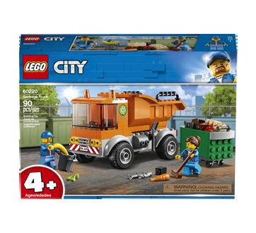 Le camion à ordures, 1 unité