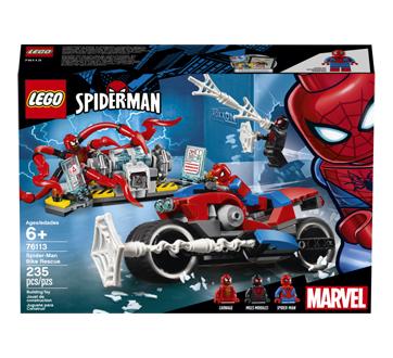 Le sauvetage en moto de Spider-Man, 1 unité