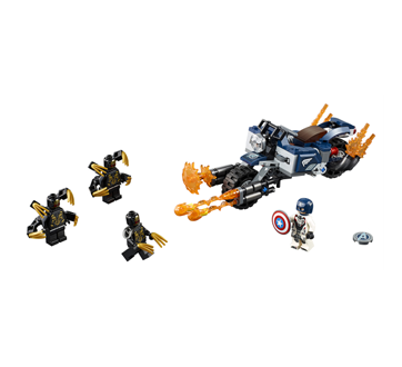 Image 2 du produit Lego - Capitaine America : l'attaque des Outriders, 1 unité