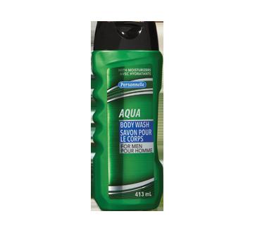 Savon pour le corps pour homme, aqua, 413 ml