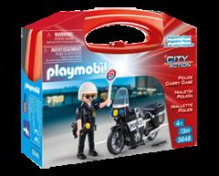 Image du produit Playmobil - Mallette transportable de police