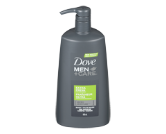 Image du produit Dove Men + Care - Micro Moisture gel douche corps + visage, 695 ml, fraicheur ultra