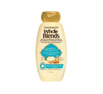 Whole Blends nutrition intense shampoing, 370 ml, richesse amande et argan