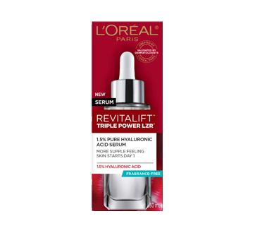 Image 2 du produit L'Oréal Paris - Revitalift Triple Power LZR sérum anti-âge d'acide hyaluronique pur 1,5% , 30 ml