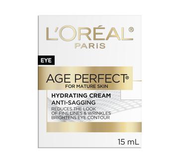 Image 2 du produit L'Oréal Paris - Age Perfect crème hydratante anti-relâchement pour les yeux, 15 ml, soja-céramide