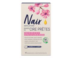 Image du produit Nair - Brazilian Spa Clay Bandes de cire prêtes jambes/corps, 40 unités